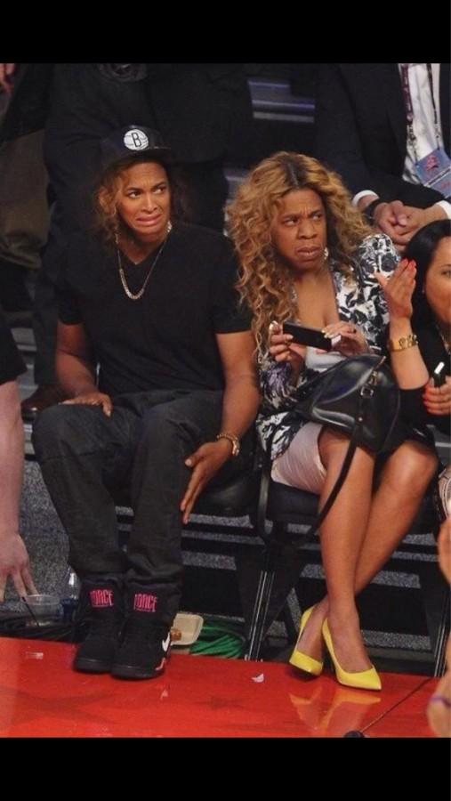 Jay z and Beyoncé face swap