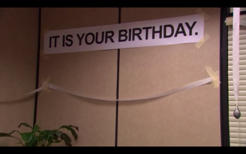 How birthdays feel after you pass 21 years