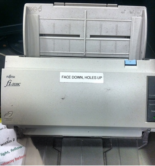 That's the way we like to fax