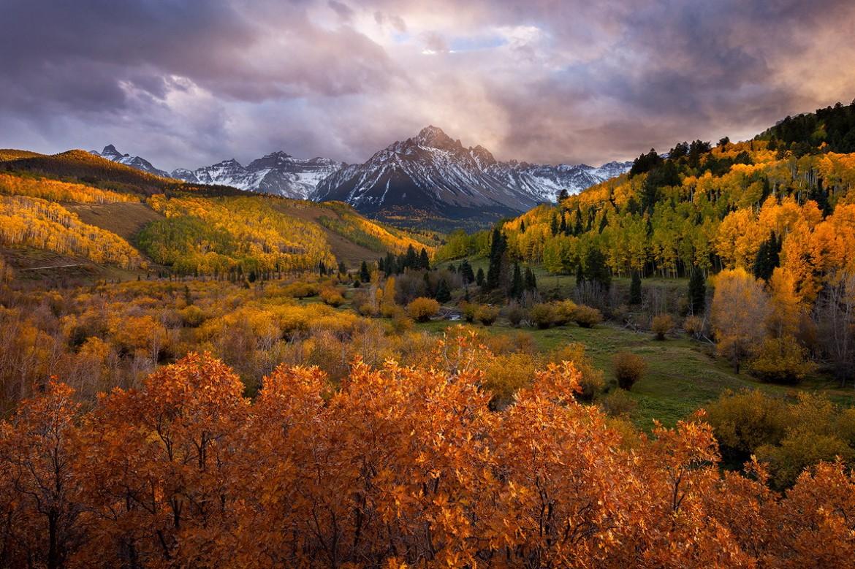Mount Sneffels Collorado USA [1186×790] by Glenn Tunaley