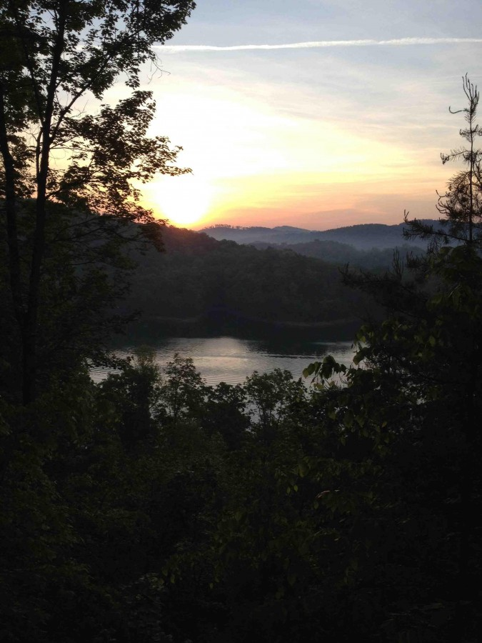 View from above Norris Lake in Tennessee [3264 x 2448]