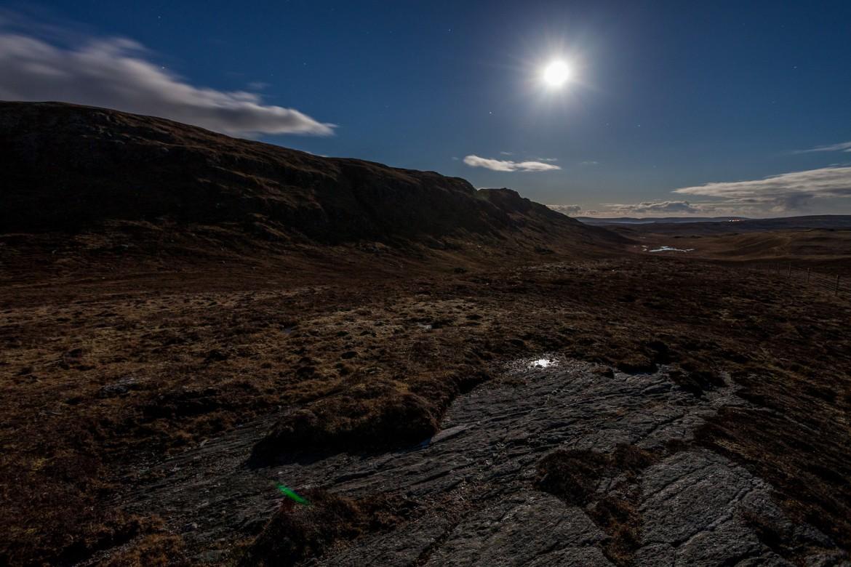The ridge after midnight, Unst, Shetland, Scotland [1680×1120] [OC]