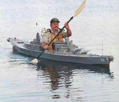 Top secret Canadian Navy warship heading towards Russia.