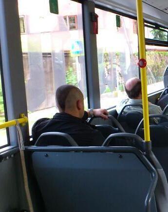 A full head of hair between them