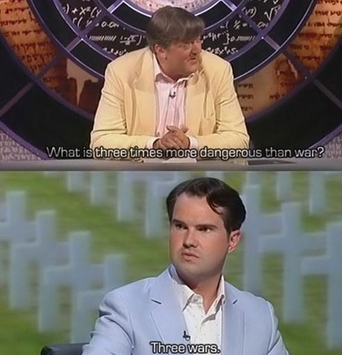 Quite possibly my favorite answer from QI