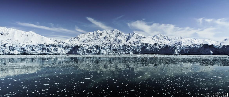 Hubbard Glacier, Alaska [1920×817] [OC]