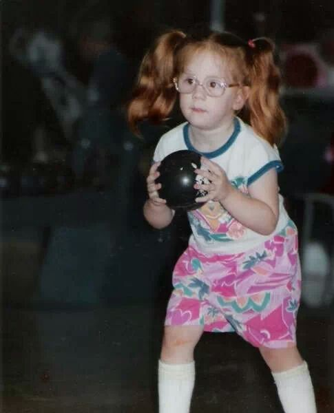 Bowling and being a ginger meant I didn't have many friends growing up