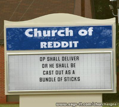 The Church of Reddit