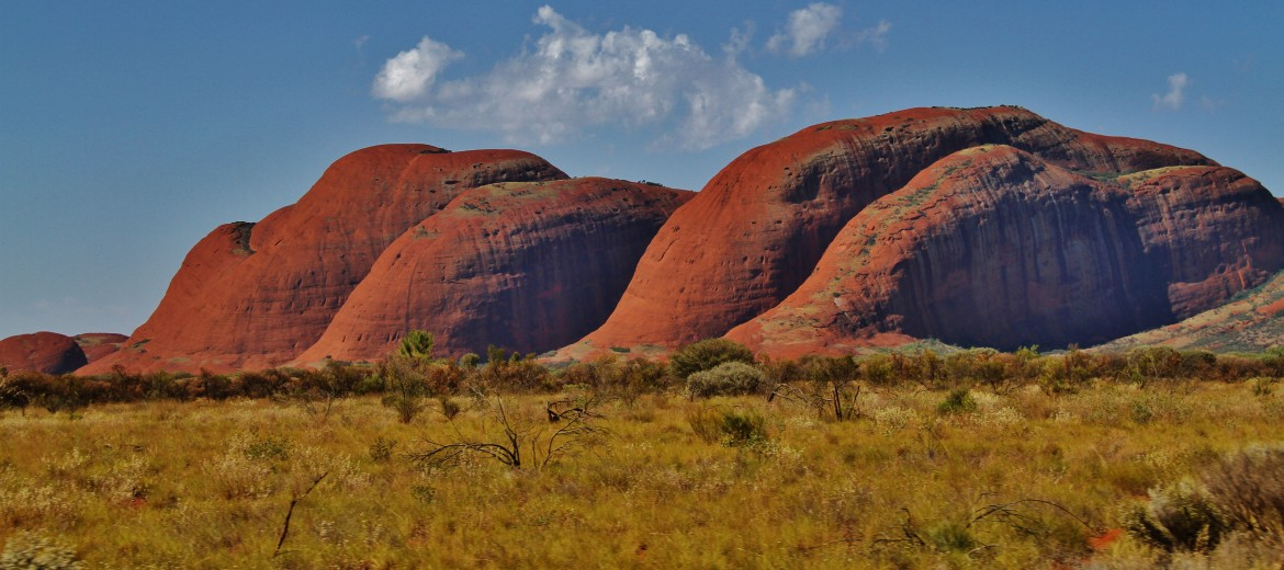 The Olgas, Central Australian Outback [5184×2307]