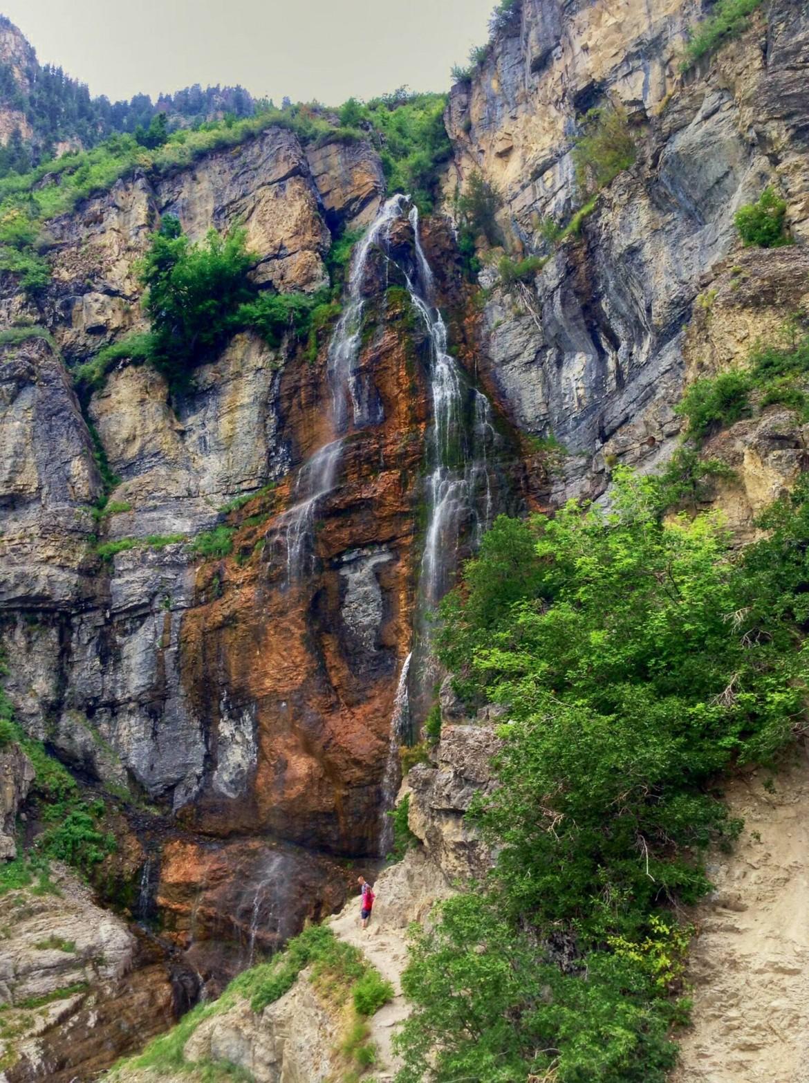 Bridal Veil Falls – Utah [540×900]
