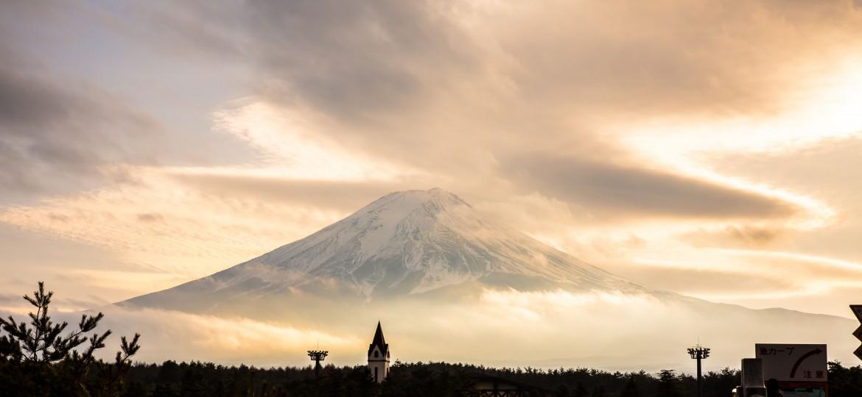 Mount Fuji, Japan [4320×1995]