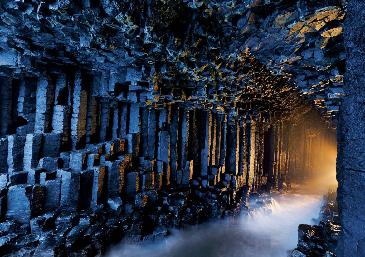 Fingal's Cave in the Inner Hebrides of Scotland [1600×1126]