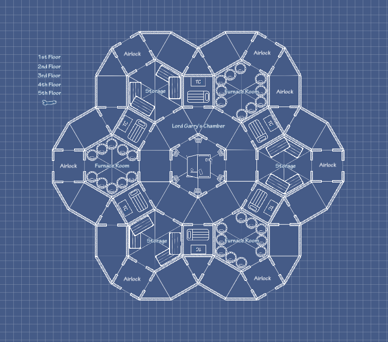 Seven Circles Base Pattern